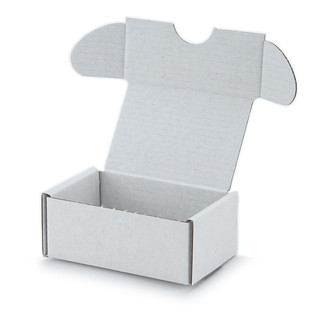90x60x40mm Einwellige Kartonagen Weiß